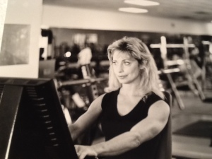 My Mom at the Gym